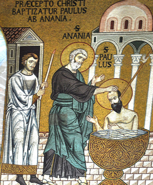 Il Santo Battesimo di San Paolo
