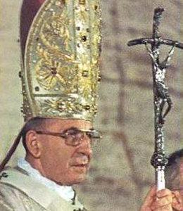 Antipapa Giovanni Paolo I con la Croce rotta