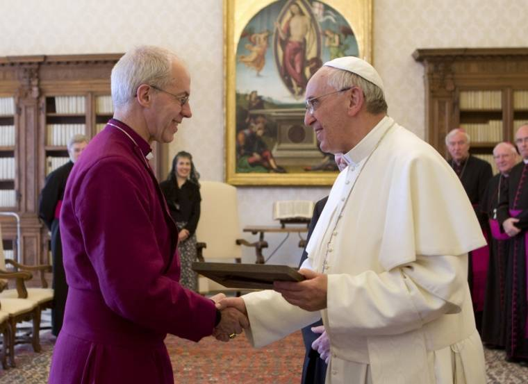 Giustino Welby ed Antipapa Francesco.