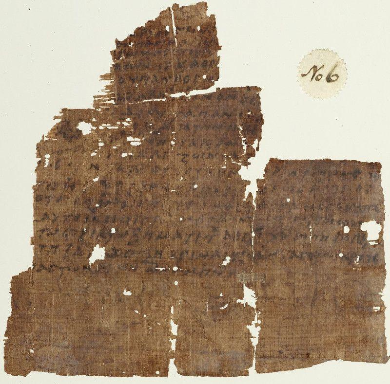 Il più vecchio manoscritto esistente del Credo Niceno, datato secolo V DC.