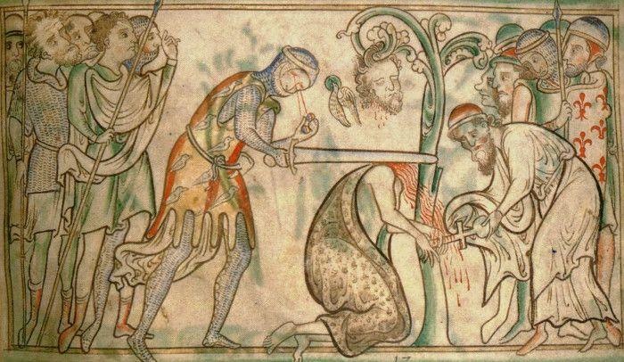 Martirio di Sant'Albano.