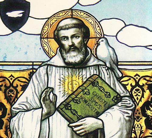 San Colombano di Lussovio, missionario Irlandese