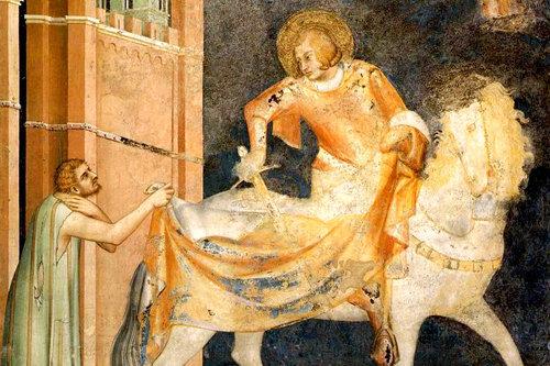 San Martino di Turona [Tours] riportò in vita un catecumeno, essente appunto già morto, talché egli lo battezzasse. [189]