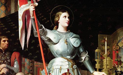 Santa Giovanna di Arco riportò in vita un infante deceduto acciocché ella lo battezzasse. [190]
